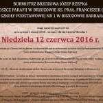 Brzozowskie obchody rocznicy Chrztu Polski