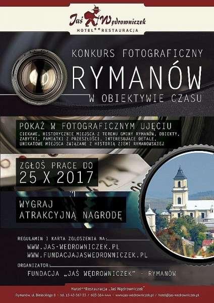 """Konkurs fotograficzny """"Rymanów wobiektywie czasu"""""""
