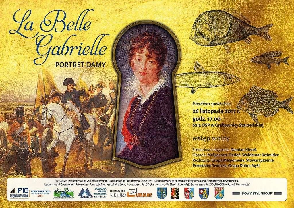 Plakat-La-Belle-Gabrielle