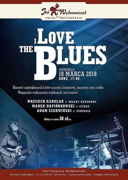 I Love the Blues koncert wJasiu Wędrowniczku