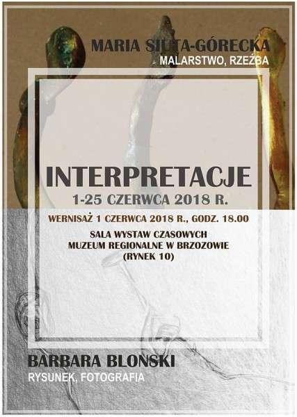 Interpretacje - wystawa