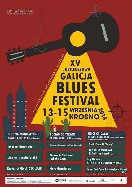 XV GALICJA BLUES FESTIVAL
