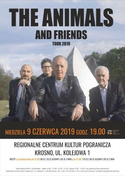 Koncert The Animals and Friends wKrośnie!