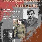 Spotkanie z Januszem Niemcem plakat 2