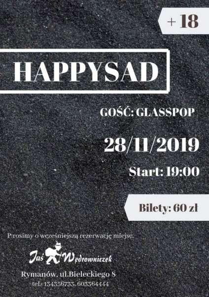 Koncert zespołu HAPPYSAD