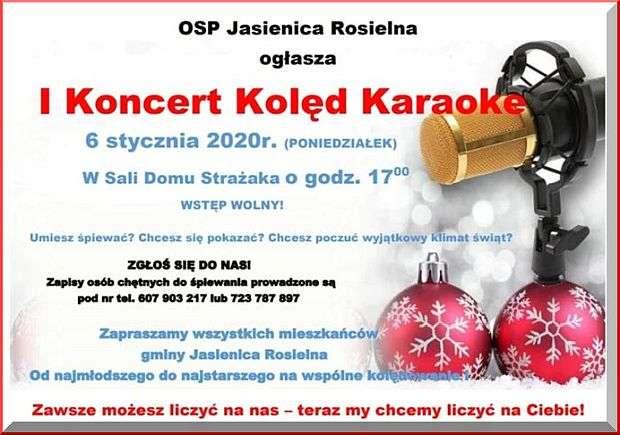 Zapraszamy naIKoncert Kolęd Karaoke