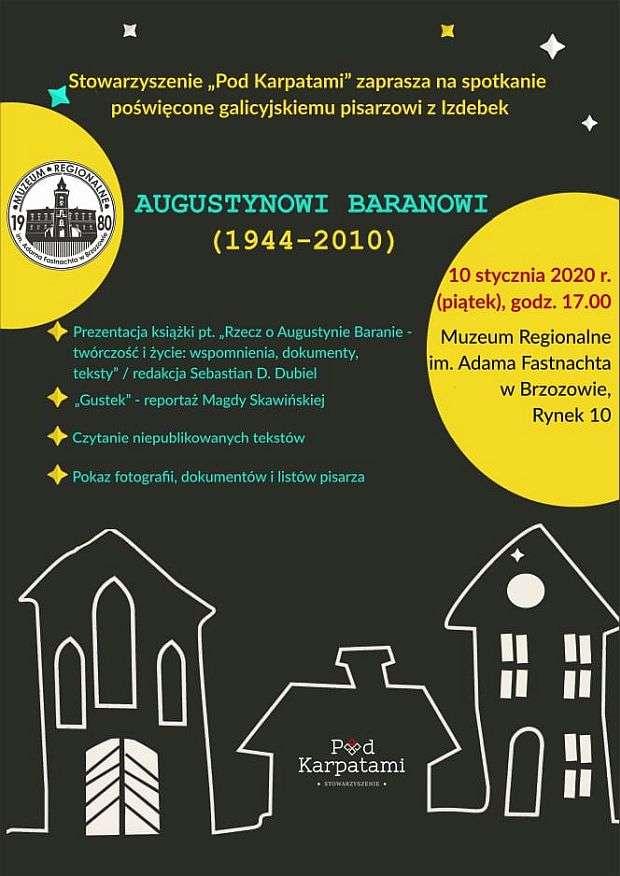 Spotkanie poświęcone Augustynowi Baranowi