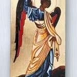 Pozłacana Ikona Michała Archanioła