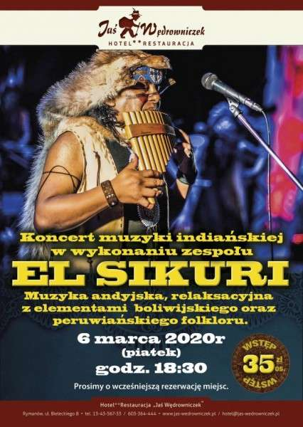 Koncert muzyki andyjskiej - zespół EL SIKURI