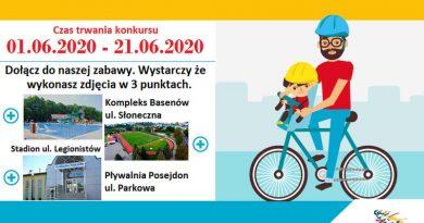 Rowerowy Dzień Dziecka z MOSiR Brzozów