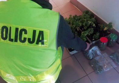 Podczas interwencji domowej u 32-latka znaleziono narkotyki