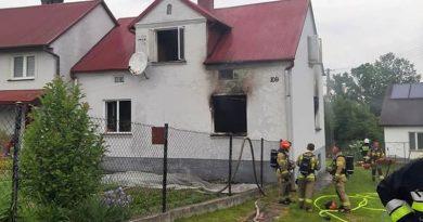 Tragiczny pożar w Brzyskach. Nie żyje 53-letni mężczyzna