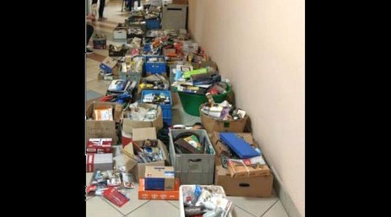 56-latek przez kilka lat kradł narzędzia ze sklepów na terenie Sanoka