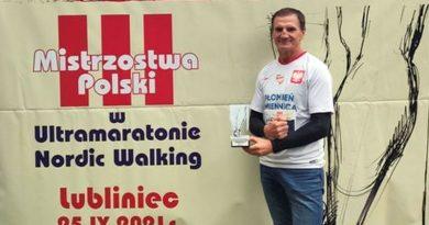 Zawodnik Płomienia Zmiennicy debiutował w ultramaratonie